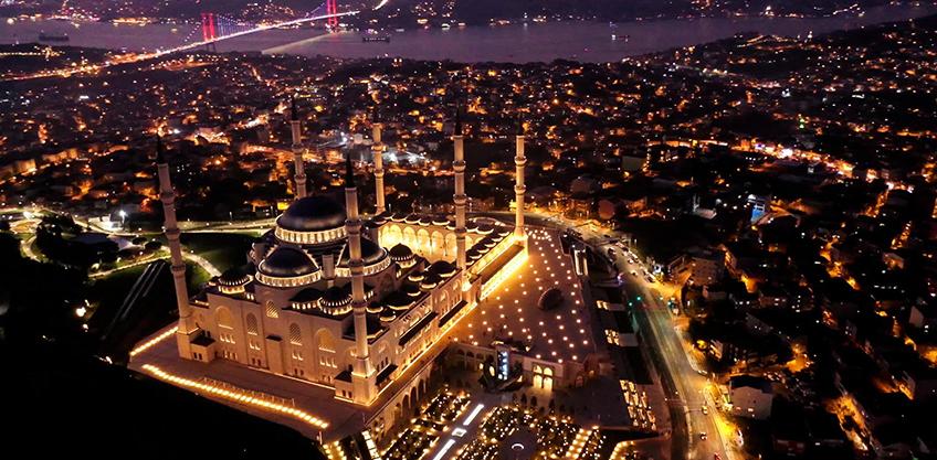<b>Çamlıca Tepesi Camii</b>